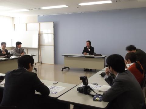 県庁横顔記者会見
