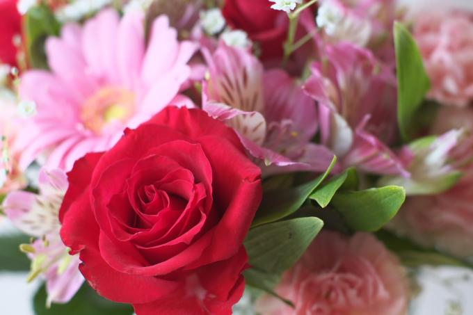 すてきな花を!