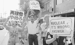 大阪で反原発デモ