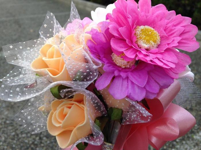 以前、プレゼントしてもらった大事な記念の花束