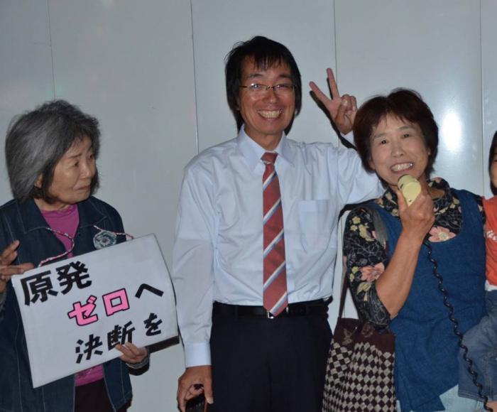 滋賀から参加の野田さんと一緒に
