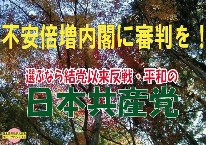 選ぶなら日本共産党