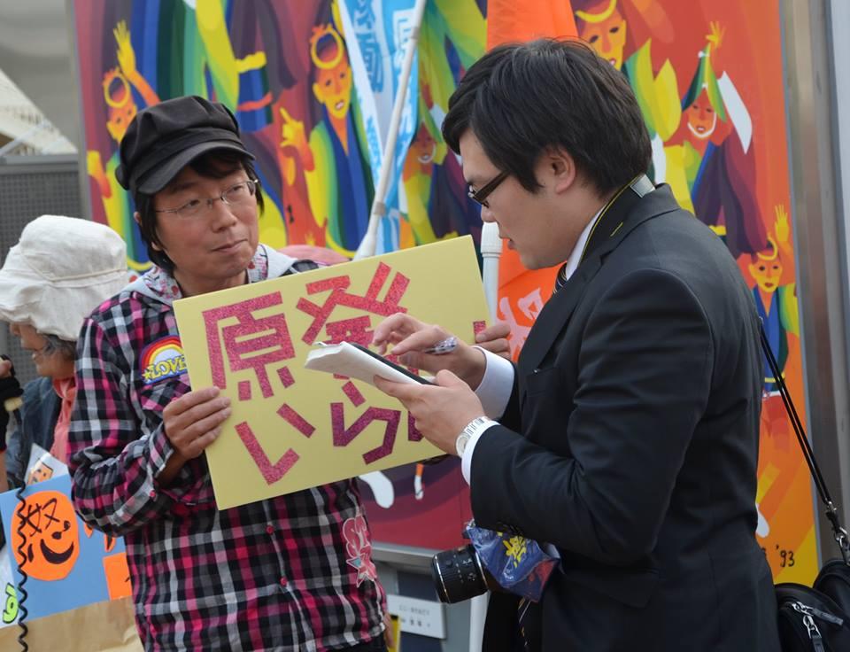 徳島新聞の記者さんから取材を受けました