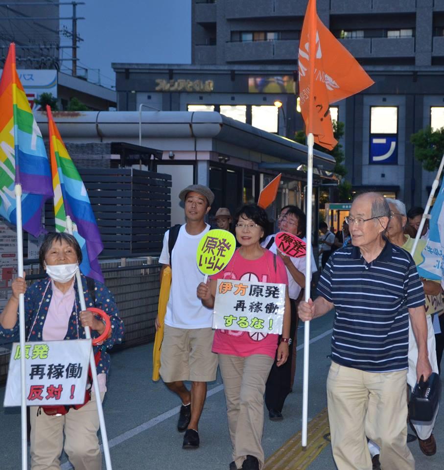 164回目のデモ行進