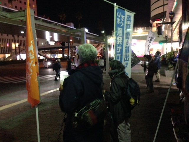 238回目の徳島駅前