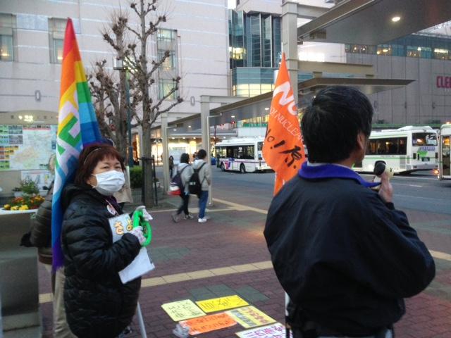 244回目の徳島駅前 石本さん