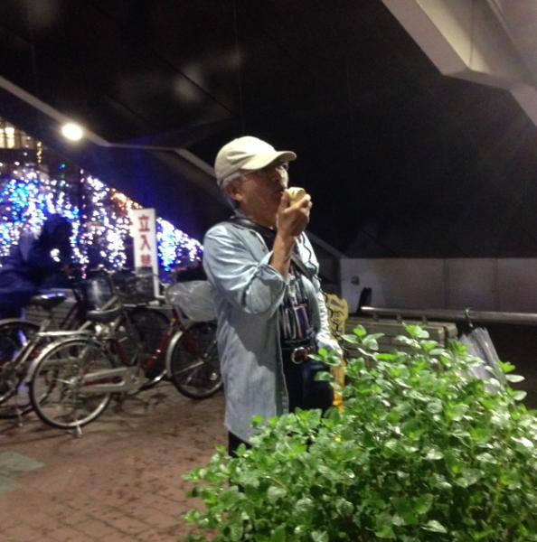 274回目の徳島駅前