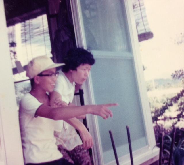 中学生の私と母