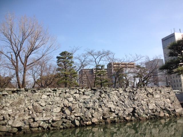 徳島城のお堀