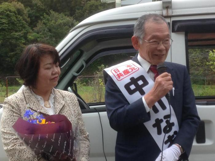 中川さんと奥さんと
