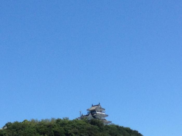 鳴門市のきれいな青空