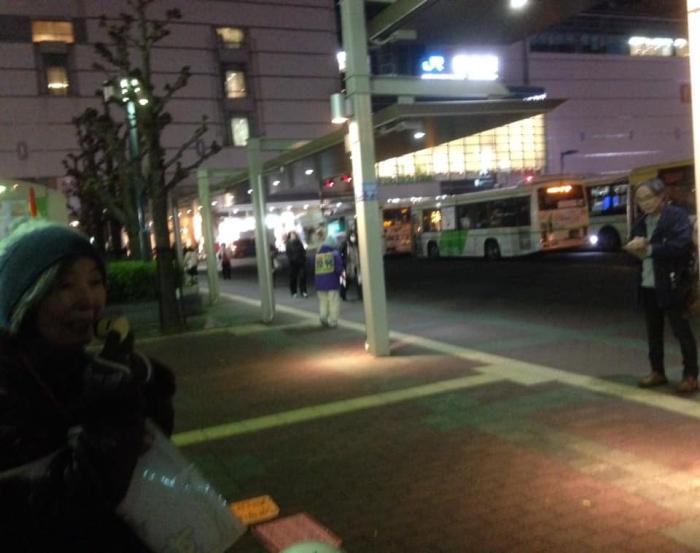 341回目の徳島駅前